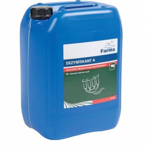 Alkaliczny środek myjący Dezynfektant A Farma 24KG