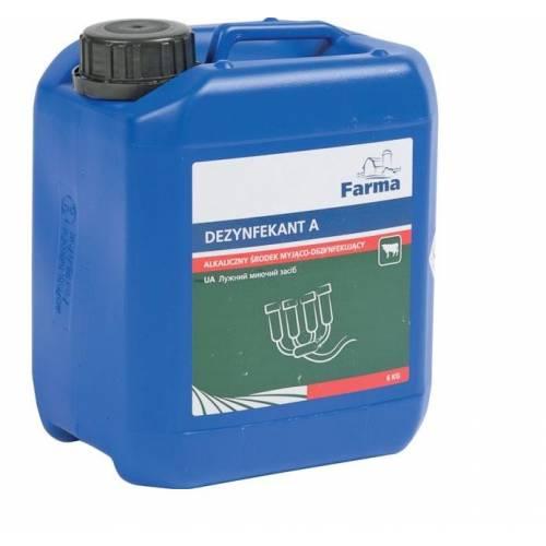 Alkaliczny środek myjący Dezynfektant A Farma 6kg