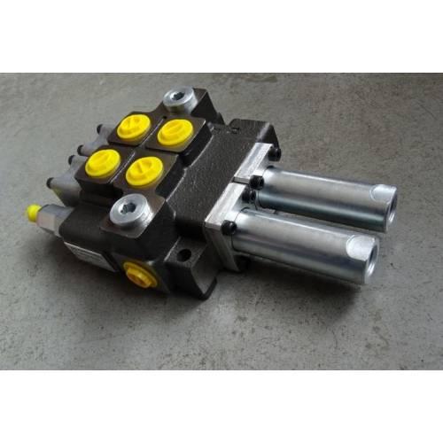 Rozdzielacz hydrauliczny dwusekcyjny 40L NA LINKI
