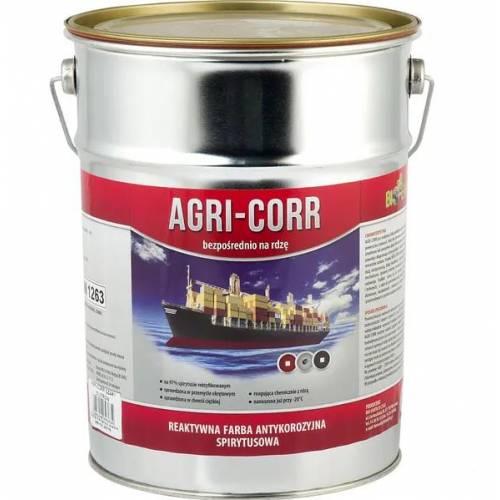 FARBA PODKŁADOWA AGRI-CORR CORR-ACTIVE CZERWONA 5L