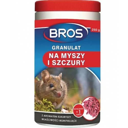 Granulat na myszy i szczury Bros 250g