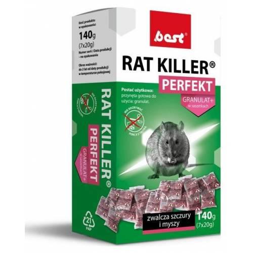 RAT KILLER PERFECT 140G GRANULAT