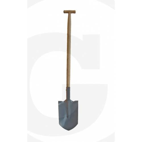Szpadel szpiczasty trzon T produkcja ROMANIK