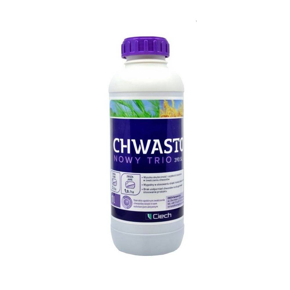 CHWASTOX TRIO NOWY 390SL 1 L CIECH