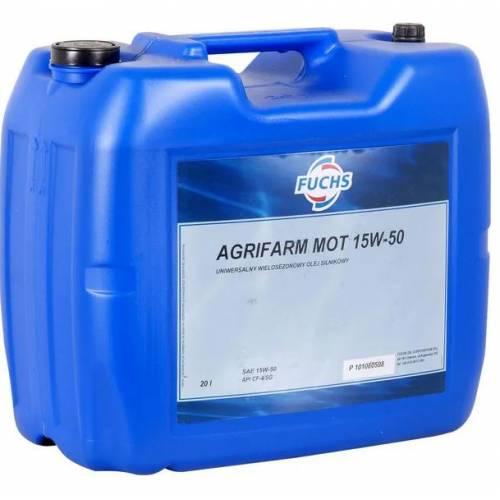 OLEJ AGRIFARM MOT 15W50 20L FUCHS