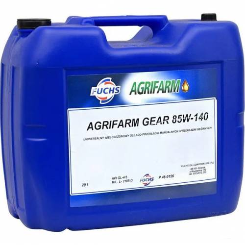 OLEJ AGRIFARM GEAR 85W140 20L FUCHS