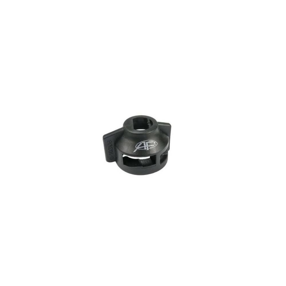 Kołpak rozpylacza n. typ 103/08 czarny z uszczelką