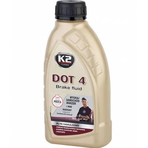 PŁYN HYDRAULICZNY DOT-4 K2 500 ml