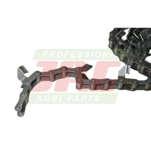 Łańcuch podajnika elewatorowego rozginane łapki
