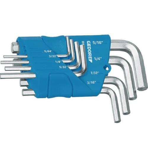 Zestaw kluczy trzpieniowych imbusowych calowych 8