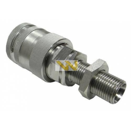 Szybkozłącze hydrauliczne PANEL gniazdo long M18x1