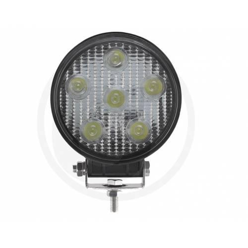 LAMPA ROBOCZA LED OKRĄGŁA GRANIT 18W 6-LED