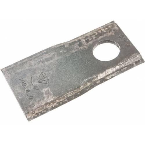 Nożyk kosiarki, 100x48x4, FI-21, lewy POTINGER
