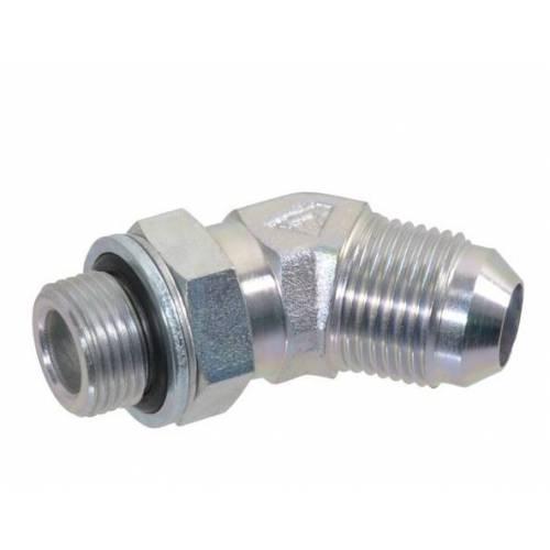 Złącze kolankowe 3/4 JIC x 1/2 BSP 45°