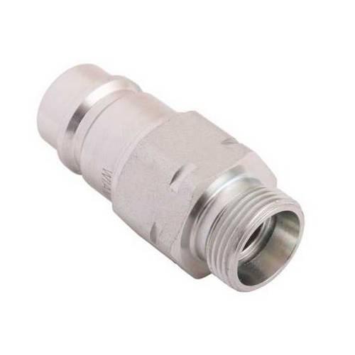 Szybkozłącze hydrauliczne wtyczka z eliminatorem