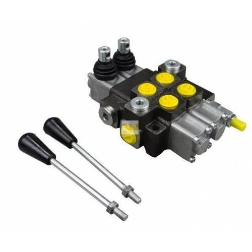 Rozdzielacz hydrauliczny 2 sekcyjny 40L