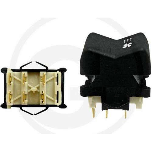 Włącznik wentylatora nagrzewnicy klawiszowy MTZ