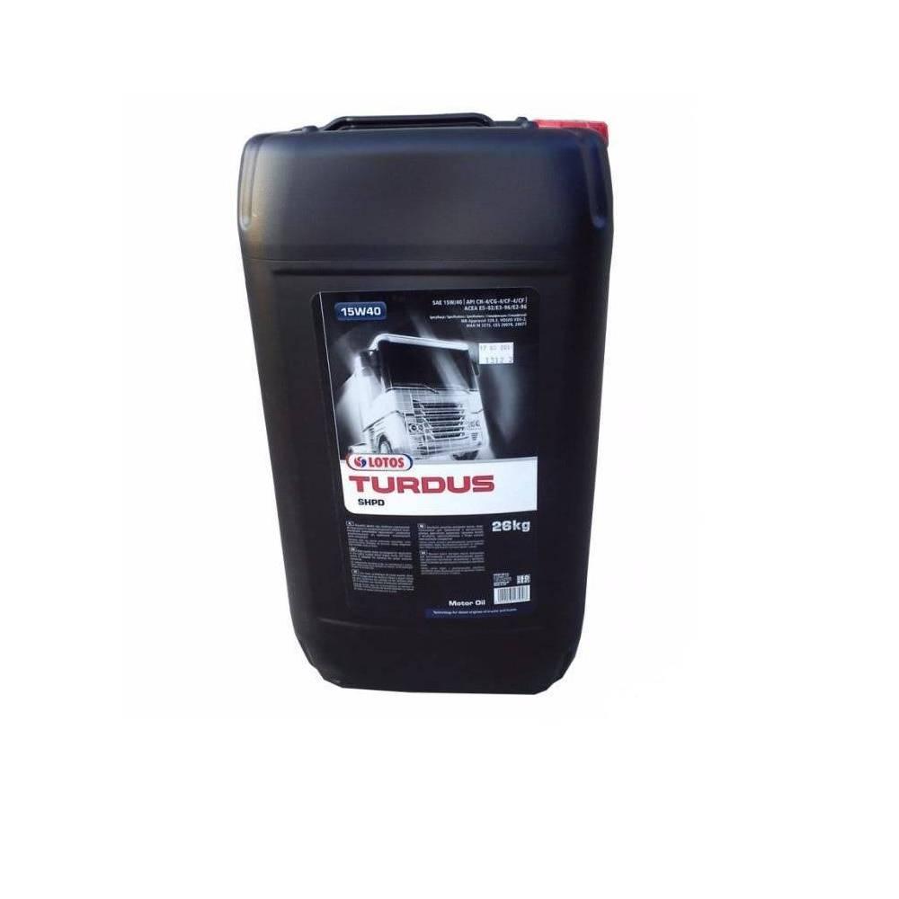 Olej Turdus SHPD 15W40 30L 26KG